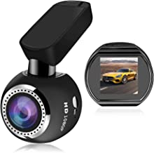 Car Dash Cam WiFi FHD 1080P Car Dash Camera Mini 360 Degree Rotate Angle Dashboard Camera DVR Recorder with G-Sensor, Night Vision, Motion Detection, WDR