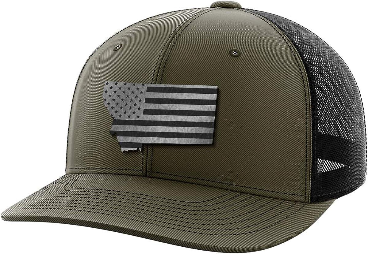 Montana United Black Patch Hat