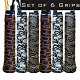 Alien Pros Tennis Racket Grip Tape (6 Grips) – Tac Moisture Feel...