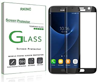 RKINC Protector de Pantalla para Samsung S7 Edge, 1 Pack Cur