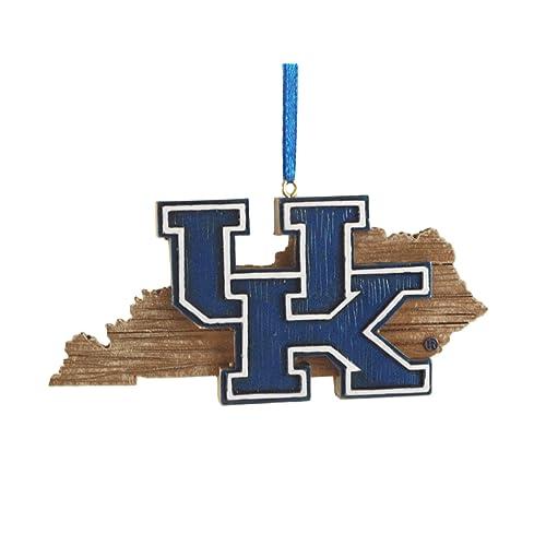 University of Kentucky Wildcats Brass Christmas Ornament
