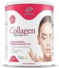 Nature's Finest Colágeno SkinCare con Naticol®, MSM, Vitamina C y Ashwagandha | Mezcla de bebida patentada para una piel luminosa sin arrugas | Péptidos hidrolizados para una absorción óptima