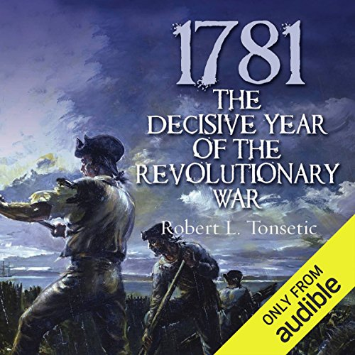 1781 audiobook cover art
