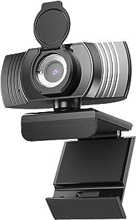 Haowolf web カメラ マイク内蔵 新版500万画像 マイク進級 ノイズキャンセリング ウェブカメラ 2K解像度 30FPS 120°広角 小型 会議対応 自動光補正 生放送カメラ ノートパソコン対応