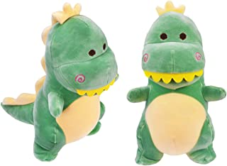 HWD 12'' Plush Dinosaur Doll, Stuffed Animal Toys (Green)