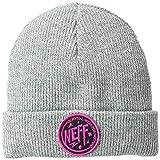 NEFF Men's Winter Headwear Beanies and Visor Hats, Grey Heather, One Size