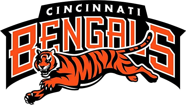 Skyhighprint Cincinnati Bengals NFL Football Sport Decor Vinyl Print Sticker 14 X 8
