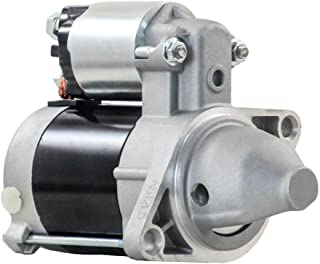 New Starter Motor Compatible With Kawasaki Engine Fd501D Fd620D Fd661D New Holland Tractor Gt20 20Hp By Part Numbers 12800...