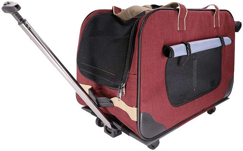 Syun Pet Pet Pet Out Trolley Case Dog Portable Cart Cat
