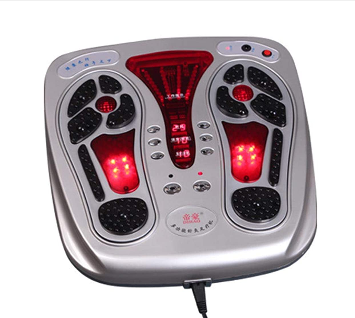 騒乱曲がったベックス電気 なだめるようなそして熱を暖める足のマッサージャー、筋肉の軟化、血行、痛みの治療触覚制御と人間工学に基づいたデザイン 人間工学的デザイン