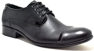 Hakiki Deri Siyah Fantazi Büyük Numara Erkek Ayakkabı