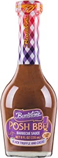 Bunsters Posh BBQ Sauce (Australian BBQ Sauce with Black Truffle and Cacao) - (1 x 8oz Bottle)