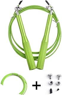 kongye Speed Jump Rope Ball Bearing Metal Handle Sport Skipping,Stainless Steel Fitness Equipment Crossfit