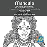 Mandala New Coloring Book for children - 200 Floating 3D Mandalas to color - Be Fearless In The Pursuit Of What Sets Your Soul On Fire - Hand Drawn ... - Unique Coloring Books for Stress Relief