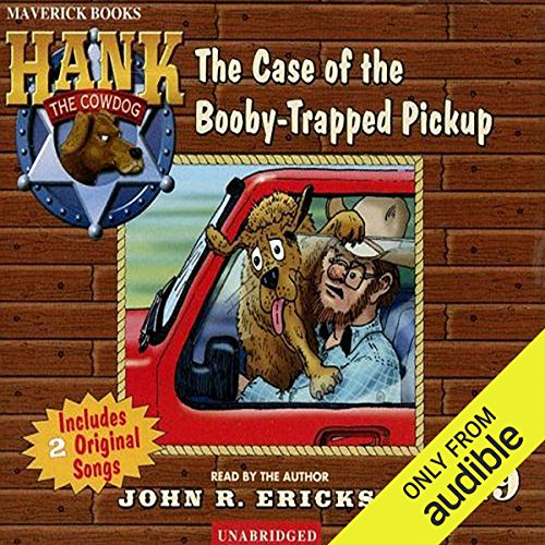 The Case of the Booby-Trapped Pickup audiobook cover art
