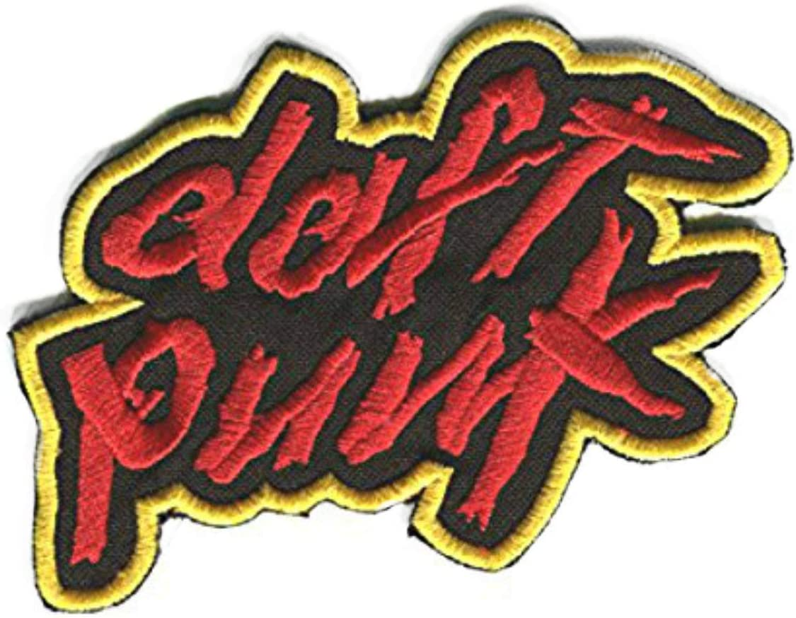 Daft Punk Max 69% OFF Patch Embroidered Iron Sew C Applique on Costume Badge trust