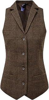 Premier Womens/Ladies Herringbone Waistcoat