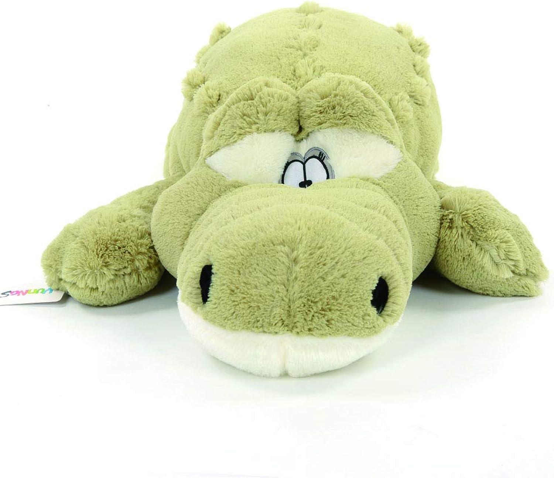Crocodile Plush Stuffed Alligator Doll Animal Toy Soft Pillow Green 63''
