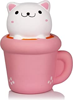 pink coffee cup squishy