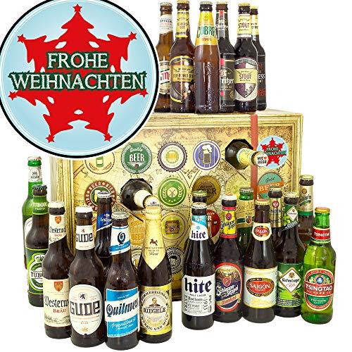 Frohe Weihnachten Tannenbaum | Bieren aus aller Welt und Deutschland