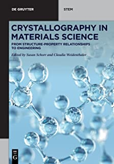 Crystallography in Materials Science: From Structure-Property Relationships to Engineering