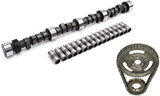 Engine Pro Stage 2 Camshaft, Lifters, and Double Roller Timing Chain Kit for Chevrolet SBC 305 350 400 .420/.443 Lift