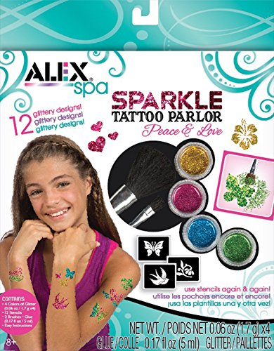 ALEX Spa Fun Sparkle Tattoo Parlor -...