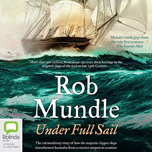 Under Full Sail audiobook cover art