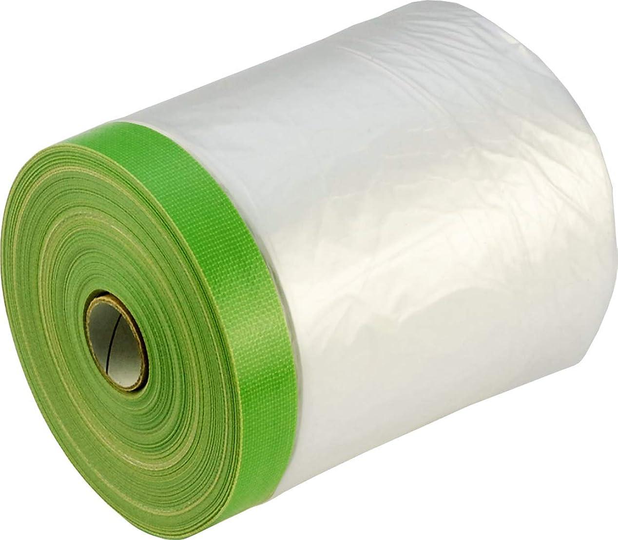 セイはさておき死にかけている禁止エス?オー?エー(S.O.A.) 布コロナマスカーS 布養生テープ付きマスカー AMNGL150025S 外壁塗装養生用 10入