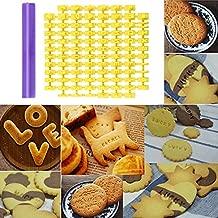 Molde para tartas con números de bricolaje, molde para