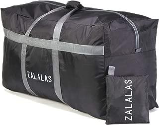 Extra Large Duffle Bag Lightweight 96L Travel Duffle Bag Foldable for Men Women Black