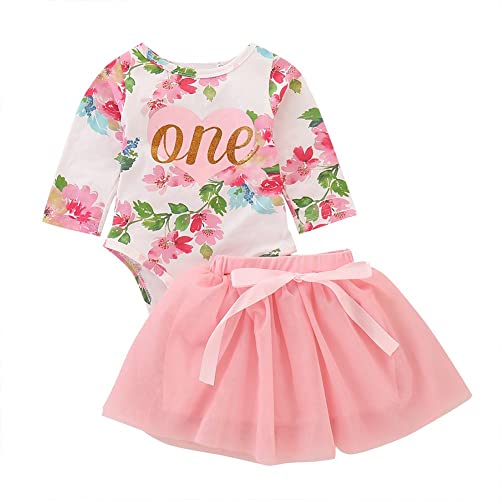 128f1023d3f81 FYMNSI Newborn Baby Girl 1st Birthday Outfit First One Year Birthday  Princess Dress Toddler Kids Gold