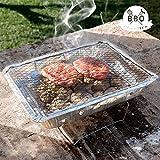 Barbacoa desechable BBQ Classics con Soporte carbn Barbacoa Pic Nic