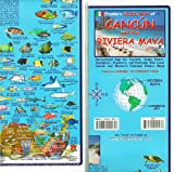Franko Maps Cancun and the Riviera Maya Map for Scuba Divers and Snorkelers