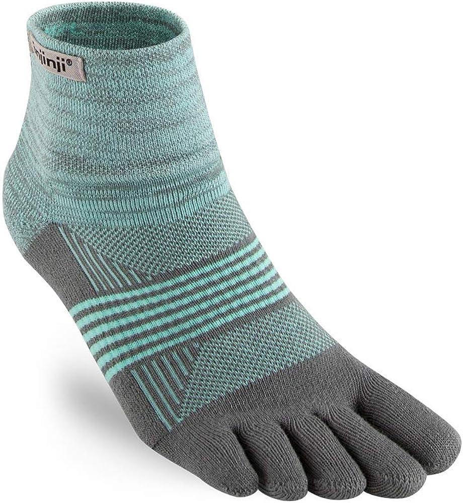Injinji Womens Trail Midweight Mini-Crew Socks