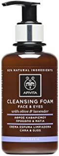 Apivita Cleansing Foam Face And Eyes With Olive And Lavender 200ml