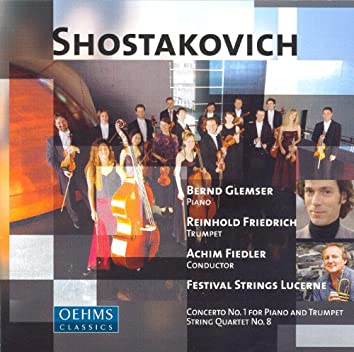 Shostakovich: Piano Concerto No. 1 / 24 Preludes and Fugues / String Quartet No. 8 (Arr. for String Orchestra)
