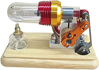 BOYH Modèle de Moteur Stirling Moteur pneumatique Modèle de Machine à Vapeur Jouet Éducatif pour Les Enfants Scientifique