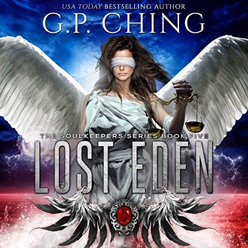 Lost Eden audiobook cover art