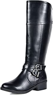 Women's Knee High Riding Boots Wide Calf