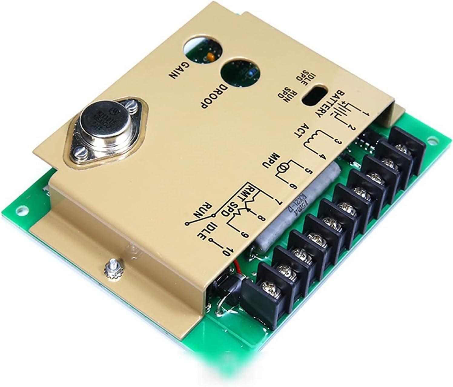 Para la velocidad del motor de control / alternador del motor GENSET 4913988 Accesorios del generador Tablero de control de velocidad electrónico Gobernador de velocidad marina EFC4913988 Regulador de