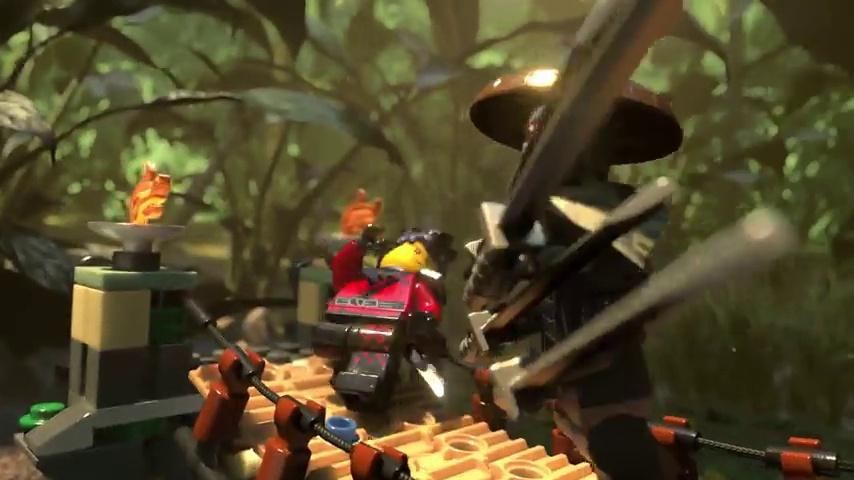 312 Piece LEGO Ninjago Movie Master Falls 70608 Building JUNGEL BRIDGE Kit