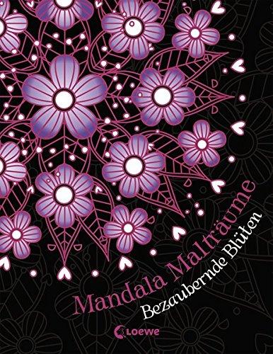 Mandala-Malträume: Bezaubernde Blüten