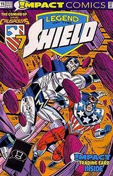 Comic Legend of the Shield -- May 1992 No. 11 (Impact Comics) Book