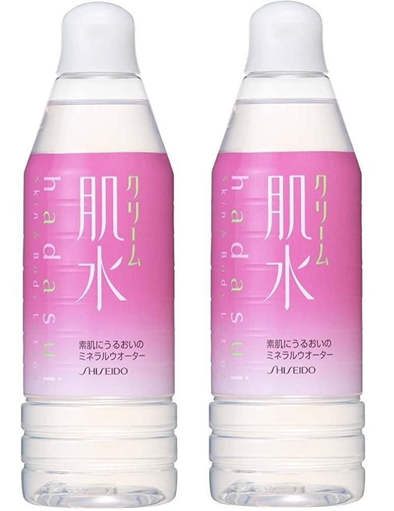 溶かす適度なもっと【まとめ買い】クリーム肌水 ボトル 400ml ×2セット