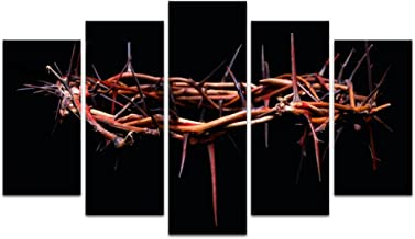 Visual Art Decor Canvas Wall Art Picture of Rustic Crown of Thorns Wall Decoration Gallery Wrap Ready to Hang Giclee Prints Home Decor Artwork