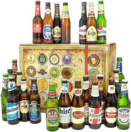 Original seit 1958 + Bier Weihnachtskalender Welt + Biere der WELT
