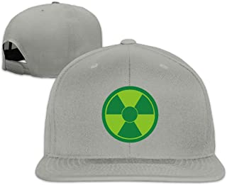 Solid Adult She Hulk Logo Flat Bill Baseball Cap