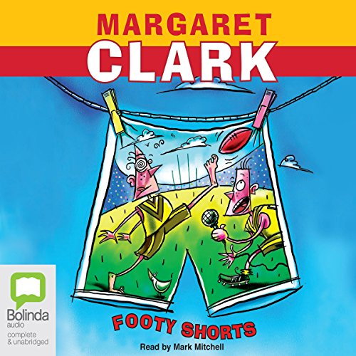 Footy Shorts audiobook cover art