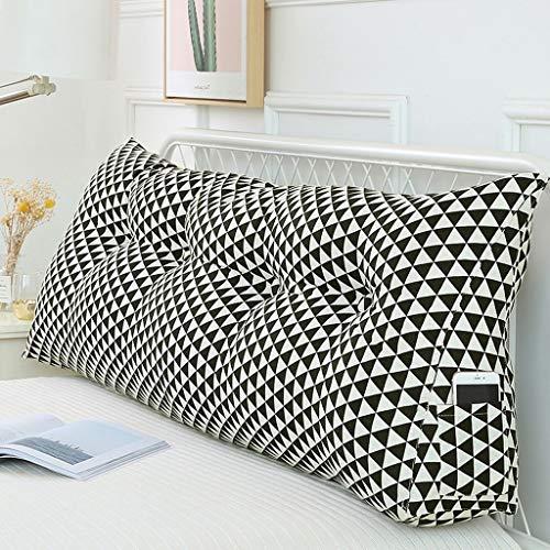 Kussen, driehoekig, afneembare slaapzak, katoen, brede rug, wasbaar 120 cm C